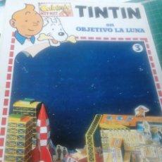 Colecionismo Recortáveis: TINTIN. EN OBJETIVO LA LUNA.. Lote 263297175