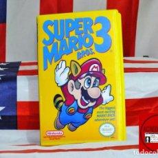Coleccionismo Recortables: SUPER MARIO BROS 3 TOY BOX ID ACREDITACIONES. Lote 269103003