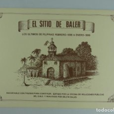Collectionnisme Images à Découper: RECORTABLE DEL CUARTEL DE LOS ULTIMOS DE BALER. HEROES DE FILIPINAS. Lote 275710008