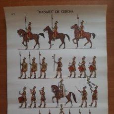 Coleccionismo Recortables: RECORTABLE : MANAIES DE GERONA. Lote 276449098