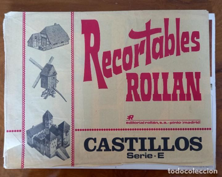 RECORTABLES ROLLAN CASTILLOS SERIE E (Coleccionismo - Otros recortables)