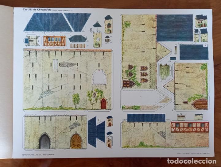 Coleccionismo Recortables: Recortables Rollan castillos serie E - Foto 2 - 277449053
