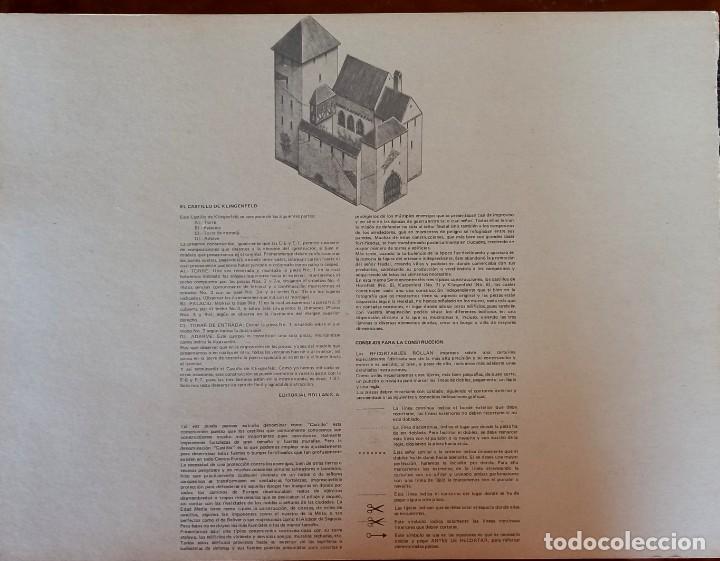 Coleccionismo Recortables: Recortables Rollan castillos serie E - Foto 3 - 277449053