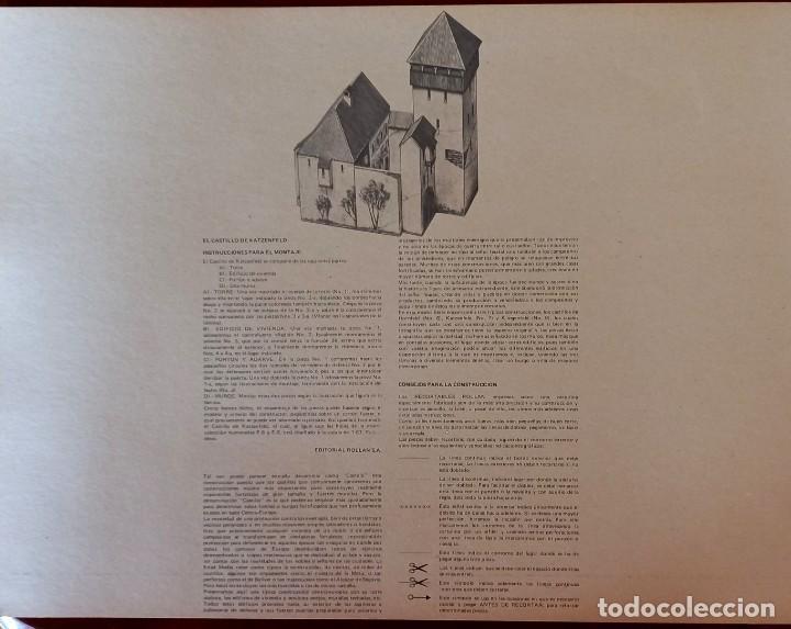 Coleccionismo Recortables: Recortables Rollan castillos serie E - Foto 5 - 277449053