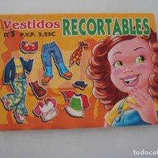 Coleccionismo Recortables: VESTIDOS RECORTABLES Nº 5. Lote 286351673