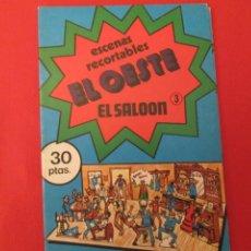 Coleccionismo Recortables: EL SALOON BAUSAN 1979. Lote 287062253