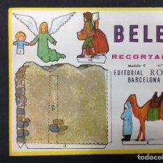 Coleccionismo Recortables: MI BELÉN RECORTABLE, MODELO C, N 2. EDITORIAL ROMA. 1967. Lote 287867153