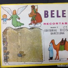Coleccionismo Recortables: MI BELÉN RECORTABLE, MODELO C, N 2. EDITORIAL ROMA. 1967. Lote 287867233