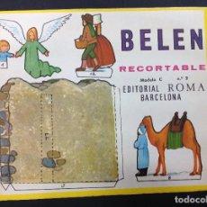 Coleccionismo Recortables: MI BELÉN RECORTABLE, MODELO C, N 2. EDITORIAL ROMA. 1967. Lote 287867308