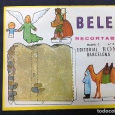 Coleccionismo Recortables: MI BELÉN RECORTABLE, MODELO C, N 2. EDITORIAL ROMA. 1967. Lote 287867373