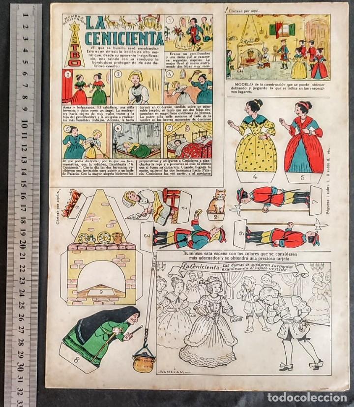 Coleccionismo Recortables: 4 RECORTABLES TBO Colecc.completa de Magister 1940 - Foto 5 - 287918658