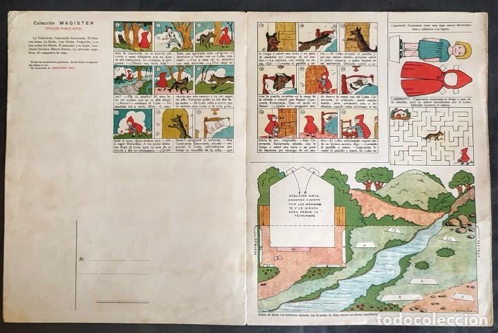 Coleccionismo Recortables: 4 RECORTABLES TBO Colecc.completa de Magister 1940 - Foto 7 - 287918658