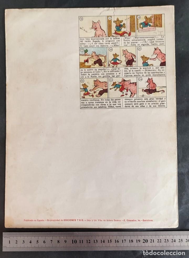 Coleccionismo Recortables: 4 RECORTABLES TBO Colecc.completa de Magister 1940 - Foto 9 - 287918658