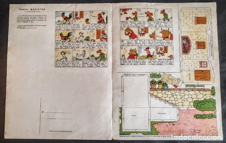 Coleccionismo Recortables: 4 RECORTABLES TBO Colecc.completa de Magister 1940 - Foto 10 - 287918658
