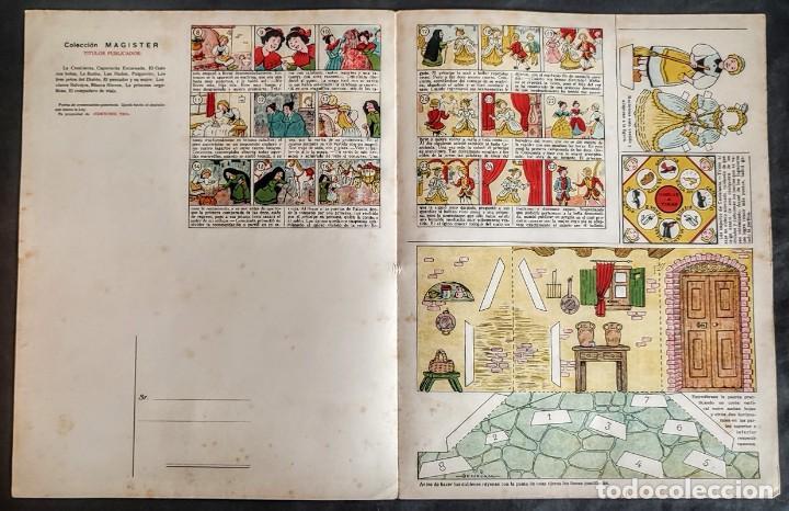 Coleccionismo Recortables: 4 RECORTABLES TBO Colecc.completa de Magister 1940 - Foto 12 - 287918658