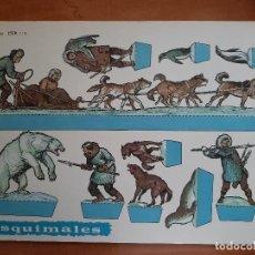 Coleccionismo Recortables: RECORTABLES EVA : LOTE DIEZ RECORTABLES GRANDES. Lote 293424383