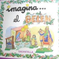 Coleccionismo Recortables: CUADERNO RECORTABLE * IMAGINA .... EL BELÉN *. Lote 295372558