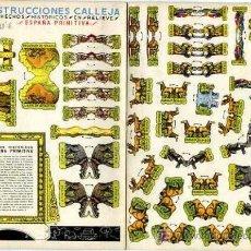 Coleccionismo Recortables: RECORTABLE CONSTRUCCIONES CALLEJA ESPAÑA PRIMITIVA Nº1. Lote 6016376