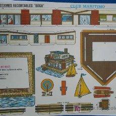 Coleccionismo Recortables: CONSTRUCCIONES RECORTABLES BOGA. Lote 10168916