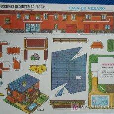 Coleccionismo Recortables: CONSTRUCCIONES RECORTABLES BOGA. Lote 6611573