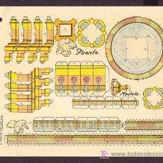 Coleccionismo Recortables: RECORTABLE DE CONSTRUCCIONES RECORTES CHIQUI, EDITORIAL ROMA. NUM. 9: FUENTE. Lote 8010436