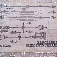 Collectionnisme Images à Découper: FAROLES. BARCELONA, 1981. 27 X 33 CM. . Lote 7535146