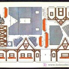 Coleccionismo Recortables: RECORTABLE DE CONSTRUCCIONES: RECORTES BABY, CASAS NUM.12 (ED.ROMA). Lote 211266187