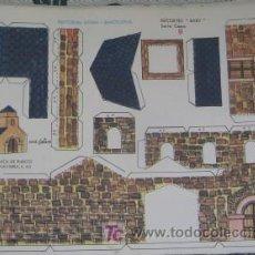 Coleccionismo Recortables: RECORTABLE IGLESIA ROMÁNICA DE NAVARRA, DE ED. ROMA. Lote 27117255