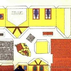 Coleccionismo Recortables: RECORTABLE DE CONSTRUCCIONES: RECORTES KIKI - LOLO, DE ED.ROMA NUM.5. Lote 9393462