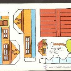Coleccionismo Recortables: HOJA RECORTABLE ROMA - CHIC_SERIE CASAS Nº 5. Lote 11735803