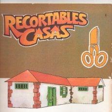 Coleccionismo Recortables: RECORTABLES CASAS. PUBLICACIONES OCEANO. AÑO 1983.. Lote 9837871