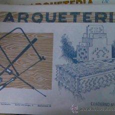 Coleccionismo Recortables: CUADERNOS DE MARQUETERÍA DE SALVATELLA Nº 34. Lote 26966081