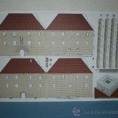 Coleccionismo Recortables: RECORTABLE DE EL ANTIGUO HOSPITAL DE SANTA MARIA DIPUTACION DE LERIDA. Lote 10569445
