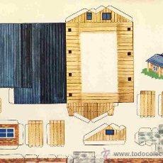 Coleccionismo Recortables: RECORTABLE DE CONSTRUCCIONES: RECORTES KIKI - LOLO, DE ED.ROMA NUM.6. Lote 10608439