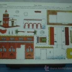 Coleccionismo Recortables: RECORTABLE LA TIJERA SERIE 10 Nº 156 CASA MORA TAMAÑO 240X340. Lote 86088330