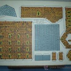 Coleccionismo Recortables: RECORTABLE KIKI-LOLO EDITORIAL ROMA SERIE CASAS Nº 2 TAMAÑO 265X350. Lote 10619688