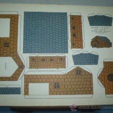 Coleccionismo Recortables: RECORTABLE KIKI-LOLO EDITORIAL ROMA SERIE CASAS Nº 4 TAMAÑO 265X350. Lote 10619703