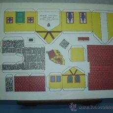 Coleccionismo Recortables: RECORTABLE KIKI-LOLO EDITORIAL ROMA SERIE CASAS Nº 5 TAMAÑO 265X350. Lote 10619713