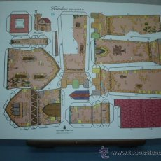Coleccionismo Recortables: RECORTABLE EDITORIAL ROMA TAMAÑO 260X390 Nº5 FORTALEZA. Lote 10621122