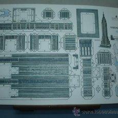 Coleccionismo Recortables: RECORTABLE EDITORIAL ROMA TAMAÑO 260X390 Nº1 RASCACIELOS. Lote 10621365
