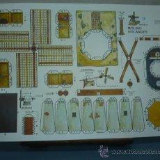 Coleccionismo Recortables: RECORTABLE EDITORIAL ROMA TAMAÑO 260X390 Nº3 MOLINO HOLANDES. Lote 10621466