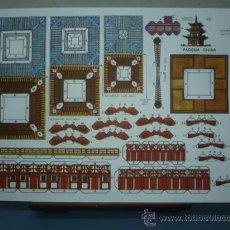 Coleccionismo Recortables: RECORTABLE EDITORIAL ROMA TAMAÑO 260X390 Nº4 PAGODA CHINA. Lote 10621481