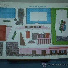 Coleccionismo Recortables: RECORTABLE EVA TAMAÑO 300X450 Nº 2307 CASA DE VERANO. Lote 10623410