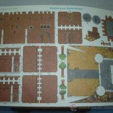 Coleccionismo Recortables: RECORTABLE C. Y P. TAMAÑO 300X450 Nº 2102 CASTILLO MEDIEVAL. Lote 10623478