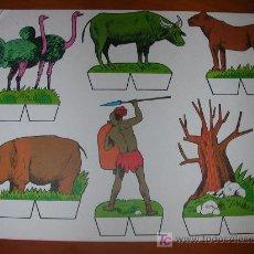 Coleccionismo Recortables: RECORTABLE KIKI-LOLO SERIE ANIMALES Nº 2. ED. ROMA. 1970. ORIGINAL, NO ES COPIA NI REPRODUCCIÓN. Lote 25407167