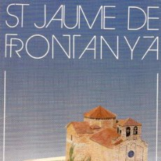 Coleccionismo Recortables: RECORTABLE ST. JAUME DE FRONTANYA . Lote 11182854