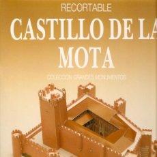 Coleccionismo Recortables: RECORTABLE CASTILLO DE LA MOTA . Lote 11182934