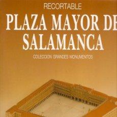 Coleccionismo Recortables: RECORTABLE PLAZA MAYOR DE SALAMANCA . Lote 11182999