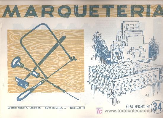 Cuadernos marqueteria antiguos a os 60 caja comprar - Cuadernos de marqueteria ...