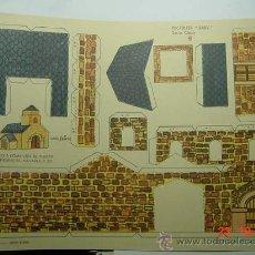 Coleccionismo Recortables: 9163 RECORTABLE IGLESIA DE PIEDRAFITA NAVARRA - EDIT ROMA AÑOS 1960 MAS EN MI TIENDA C&C. Lote 13829147